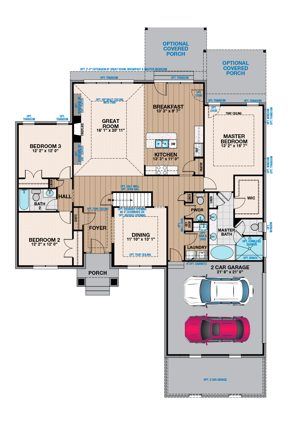 Free Virtual Room Layout Planner: The Jamestown
