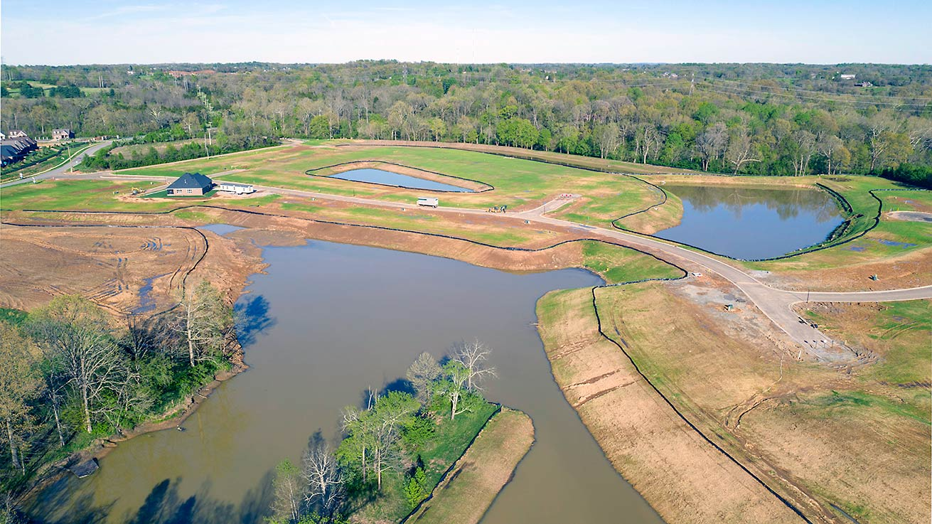 Twin Lakes Master Planned Community on Aiken Road, Louisville
