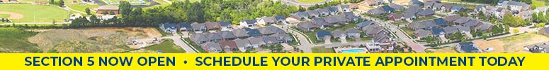 Now selling homesites in section 5 at signature point