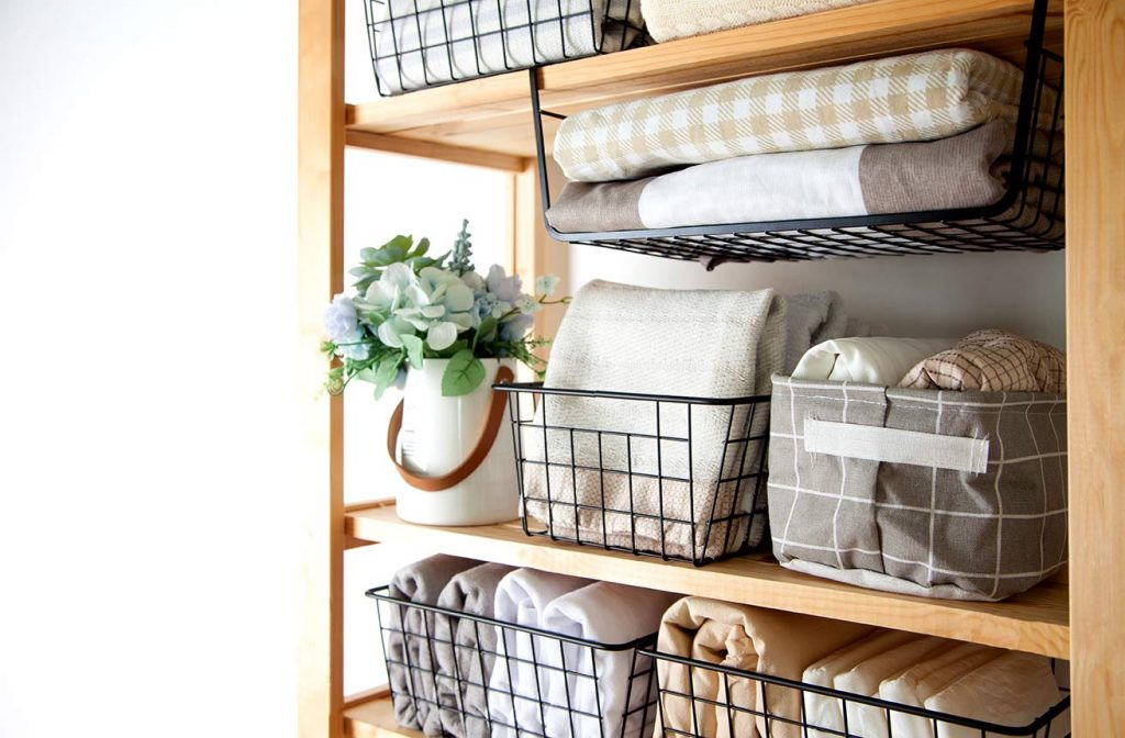 Spring cleaning an organizing your home